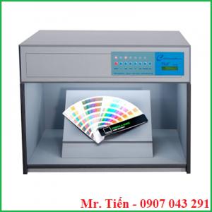 Bộ điều khiển đèn so màu sơn vải gỗ 6 nguồn sáng D65, TL84, TL83, CWF, F, UV P60(6) hãng Tilo