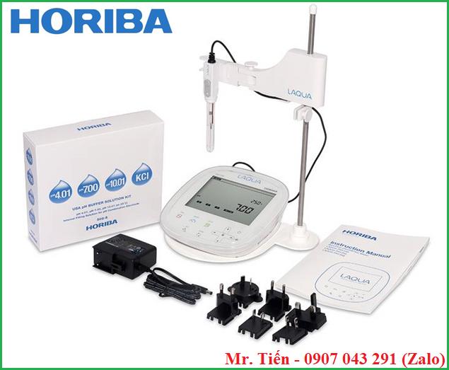 Bộ dung dịch chuẩn pH Buffer Solution 502-S đi chung với máy đo pH 1100 hãng horiba