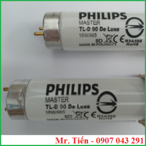 Bóng đèn Philips Master TL-D 90 De Luxe 18W/965 Made in Holland R3A588 ROHS