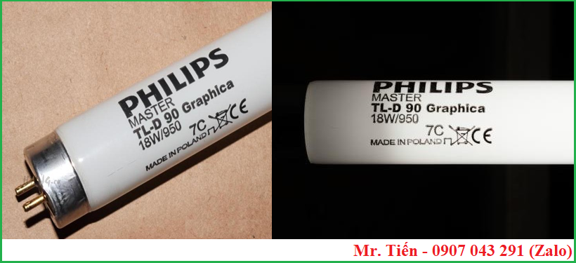 Bóng đèn Philips Master TL-D 90 Graphica 18W/950 7C Made in Poland