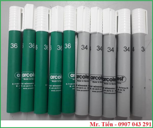 Bút thử sức căng bề mặt 34 và 36 dyne hãng Arcotest