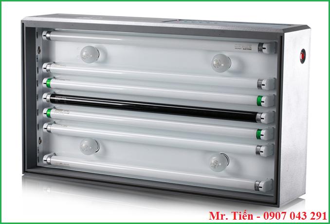 Các bóng đèn trong tủ soi màu vải, sơn, bao bì T60(5) hãng Tilo