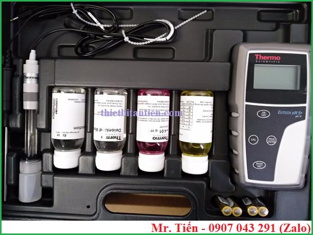 Cung cấp bao gồm của máy đo độ pH nước pH 5+ hãng Eutech