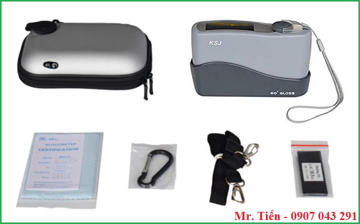 Cung cấp bao gồm của máy đo độ phản quang bề mặt MG6-F1 hãng KSJ
