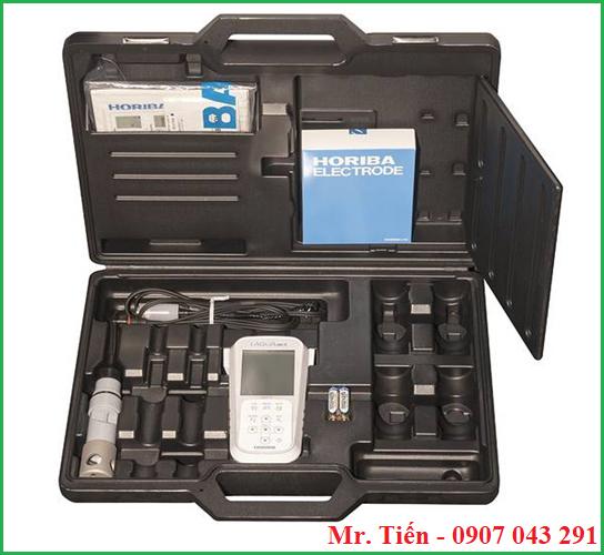 Cung cấp bao gồm của máy đo Oxy trong nước LAQUAact DO110 Horiba Nhật Bản