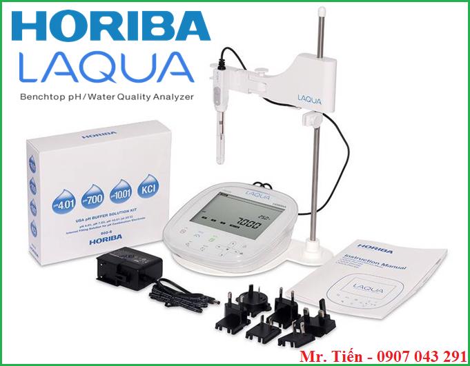 Cung cấp bao gồm của máy đo pH nước 3 số lẻ pH1200 Horiba Nhật Bản