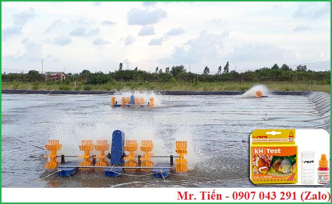 Độ kiềm (kH) trong nước nuôi tôm cá thủy sản
