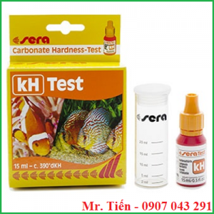 Hộp test kH Carbonate Hardness test hãng Sera (Đức)
