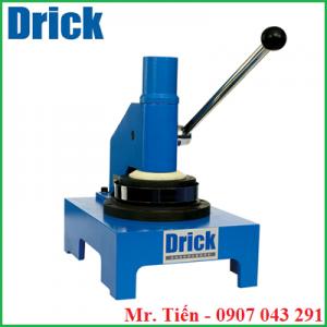 Máy cắt mẫu thử kiểm tra độ thấm hút nước của giấy và bìa Carton DRK110-1 hãng Drick