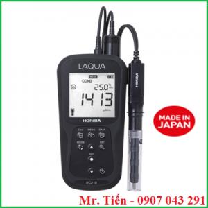 Máy đo độ dẫn điện của nước LAQUA EC210 Horiba Nhật Bản siêu bền