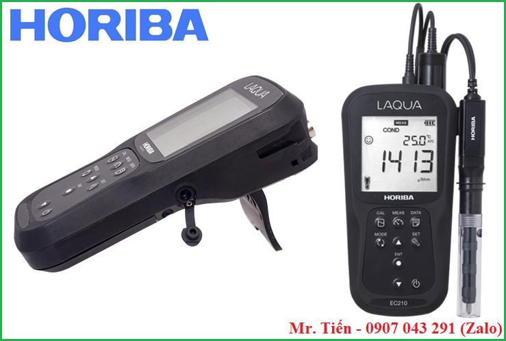 Máy đo độ dẫn điện độ mặn của nước LAQUA EC210 hãng Horiba Nhật Bản giá rẻ