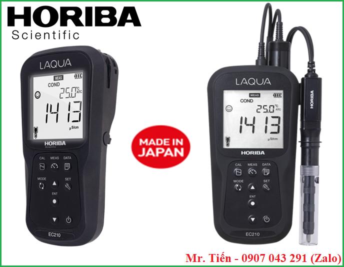 Máy đo độ mặn của nước mắm EC210 hãng Horiba (Nhật Bản)