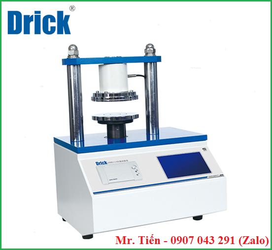 Máy đo độ nén vòng, nén cạnh của giấy, bìa carton (Crush Tester) DRK 113 hãng Drick