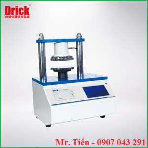 Máy đo độ nén vòng (Ring Crush Test RCT) nén cạnh (Edge Crush Test ECT) của giấy, bìa carton DRK 113 hãng Drick