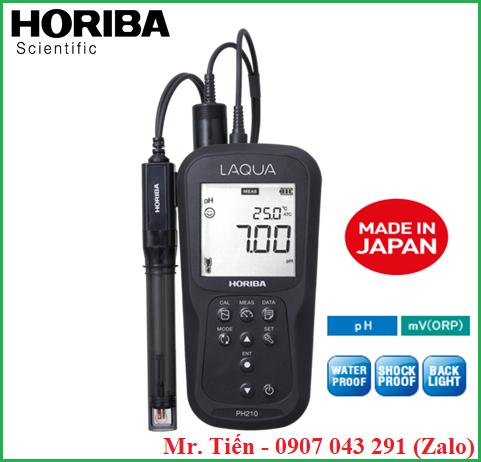 Máy đo độ pH nước LAQUA pH 210 hãng Horiba (Nhật Bản)
