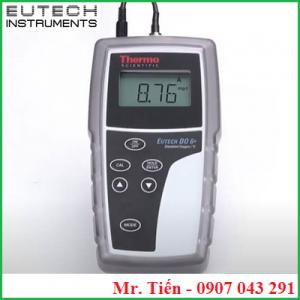 Máy đo nồng độ khí Oxy hòa tan trong nước ao nuôi tôm cá Dissolved Oxygen DO6+ hãng Eutech Thermo Scientific