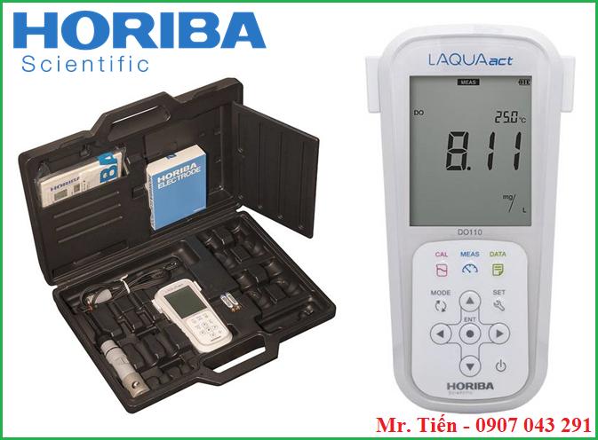 Máy đo Oxy trong nước LAQUAact DO110 Horiba Nhật Bản siêu bền