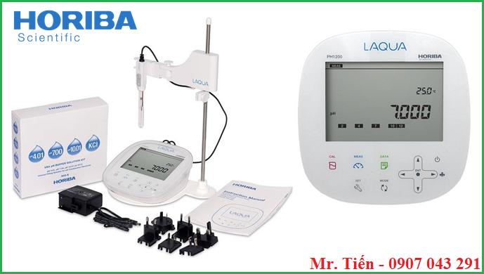 Máy đo pH nước 3 số lẻ pH1200 Horiba Nhật Bản