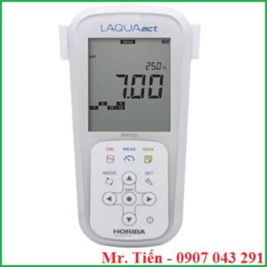 Máy đo pH nước thải hóa chất LAQUAact pH110 Horiba Nhật Bản giá rẻ siêu bền