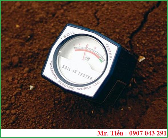 Máy đo pH ở trong đất DM 13 hãng Takemura