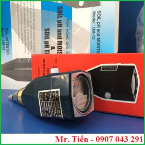 Máy đo pH và độ ẩm đất DM 15 hãng Takemura Nhật Bản giá rẻ siêu bền