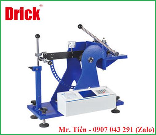 Máy kiểm tra độ bền giấy Carton chống lực đâm thủng (Intelligent Cardboard Puncture Tester) DRK104B hãng Drick