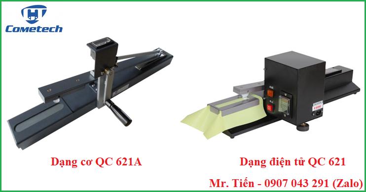 Máy kiểm tra độ bền màu vải ma sát QC 621A và QC 621 hãng Cometech