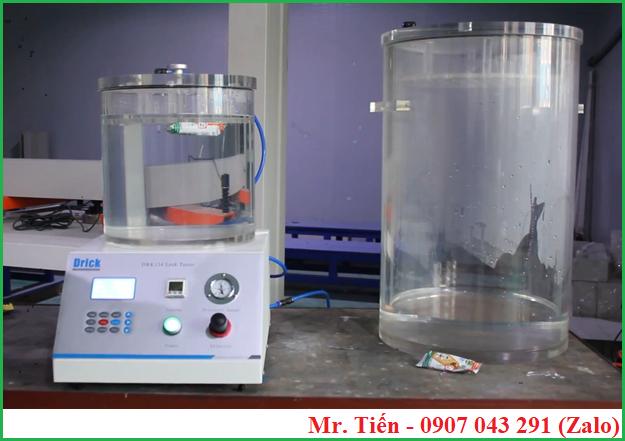 Máy kiểm tra độ kín bao bì (độ rò rỉ khí, Leak Tester) DRK134 hãng Drick
