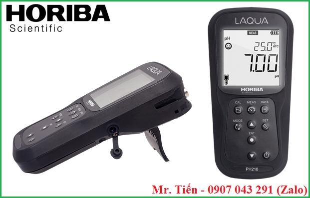 Máy LAQUA pH 210 Horiba có thiết kế nhỏ gọn, bền, độ chính xác cao