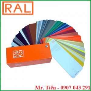 Quạt màu sắc chuẩn quốc tế RAL K5 và RAL K7