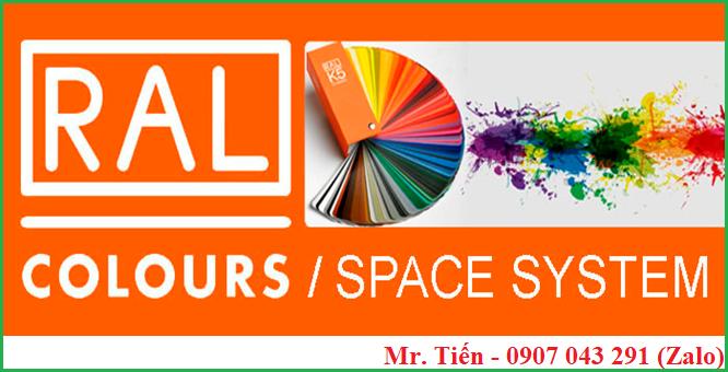 Quạt màu sắc chuẩn RAL K5