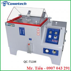 Tủ phun sương muối kiểm tra độ bền chống ăn mòn gỉ sét kim loại của màng sơn QC-711M hãng Cometech